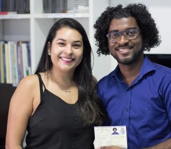 Entrega de carteira de identidade profissional  22/08/2019