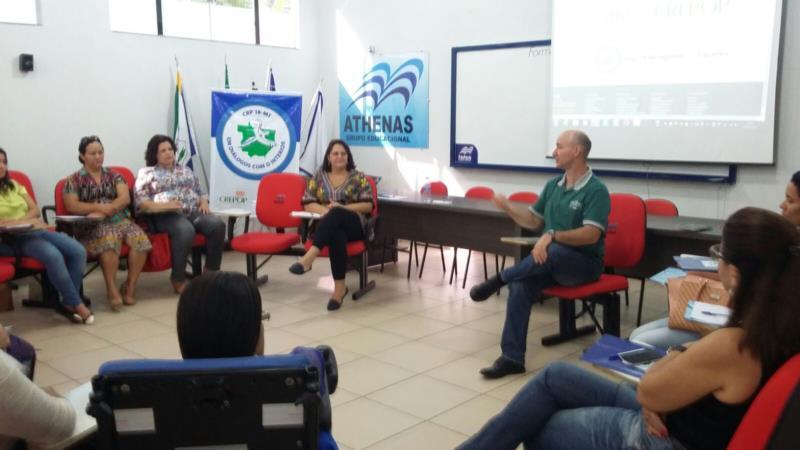 Projeto CRP18-MT em Diálogos com o Interior - Cáceres