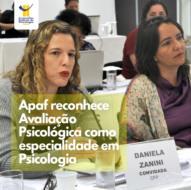 Apaf reconhece Avaliação Psicológica como especialidade em Psicologia