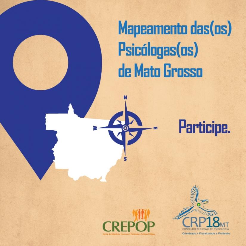 CRP-18 e CREPOP realizam mapeamento de profissionais