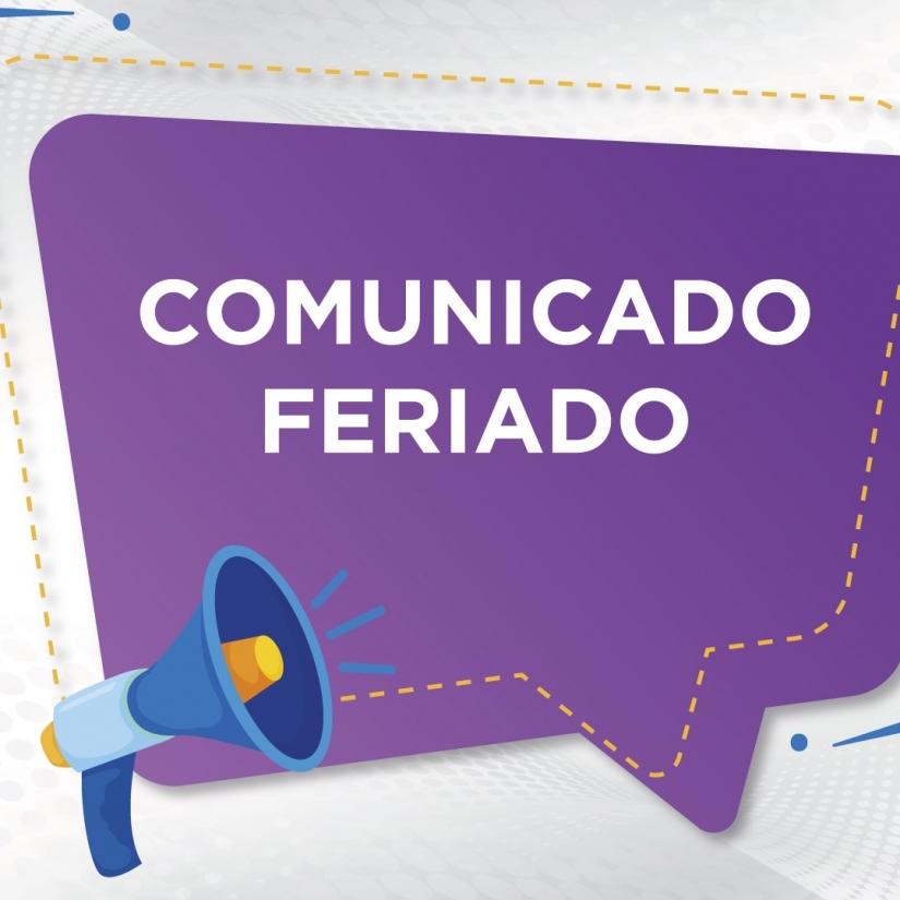 COMUNICADO ANIVERSÁRIO DE CUIABÁ