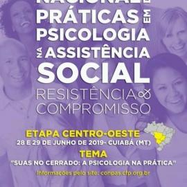 I Mostra Nacional de Práticas em Psicologia no Sistema Único de Assistência Social.