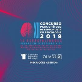 Abertas inscrições para concurso de especialista em Psicologia