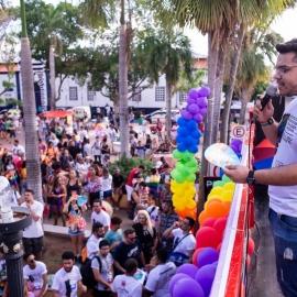 CRP18-MT marca presença na 17ª Parada da Diversidade em Cuiabá