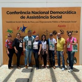Conferência Nacional de Assistência Social reúne mais de 800 pessoas em Brasília (DF)