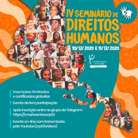 IV Seminário de Direitos Humanos