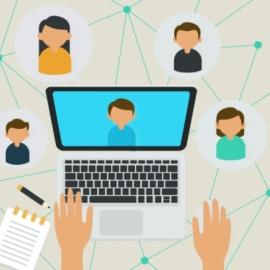 Profissionais recém-registrados participam de encontro virtual com o Conselho