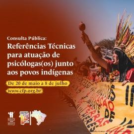 CREPOP lança consulta pública sobre atuação junto aos povos indígenas