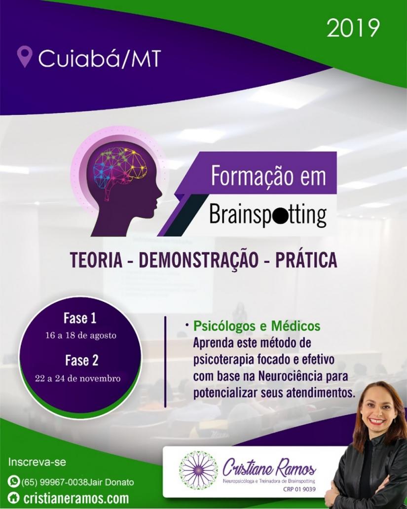 Formação no método psicoterapêutico BRAINSPOTTING