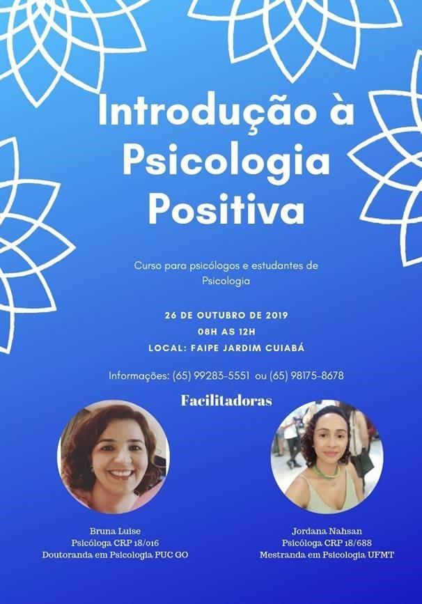 CURSO INTRODUÇÃO A PSICOLOGIA POSITIVA
