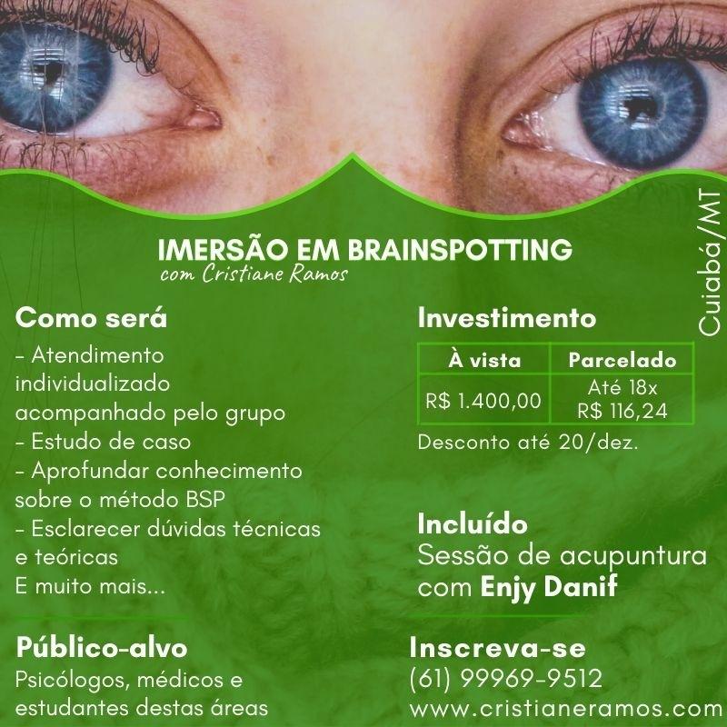 IMERSÃO EM BRAINSPOTING