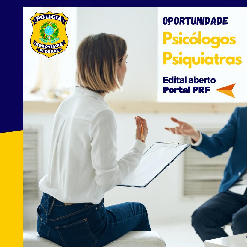 PRF abre credenciamento para profissionais de Psicologia na modalidade online