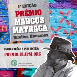 1º Prêmio Marcus Matraga - Direitos Humanos